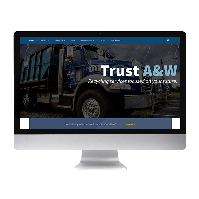 Recycling Service Website