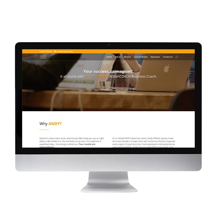 Business Coaching Website