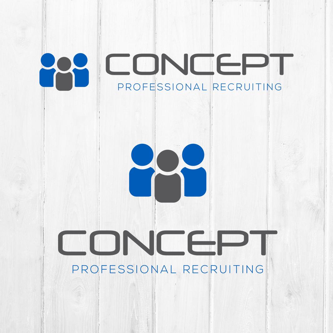 Business Recruiting Logo