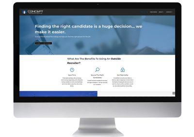 Recruiting Professional Website