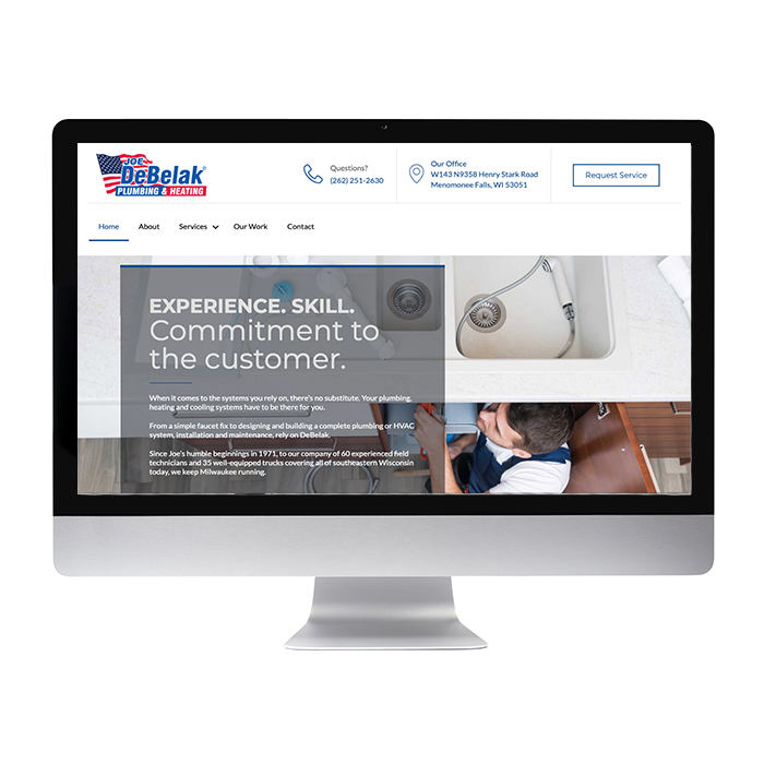 Plumbing & Heating Website