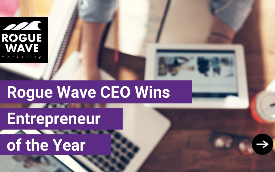 Rogue Wave CEO Wins Entrepreneur of the Year